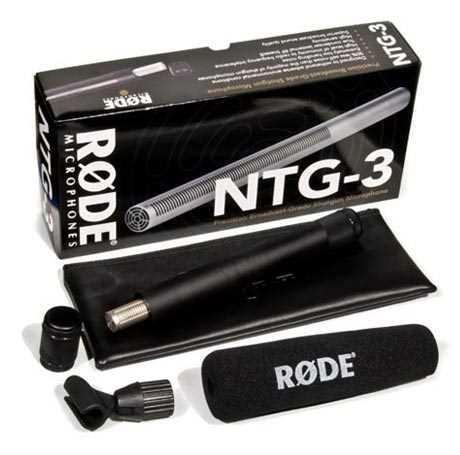 Rode NTG-3 Richtmikrofon