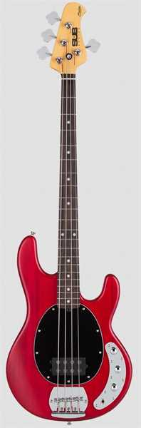 Sterling by Music Man SUB Ray 4 Bass Red Satin