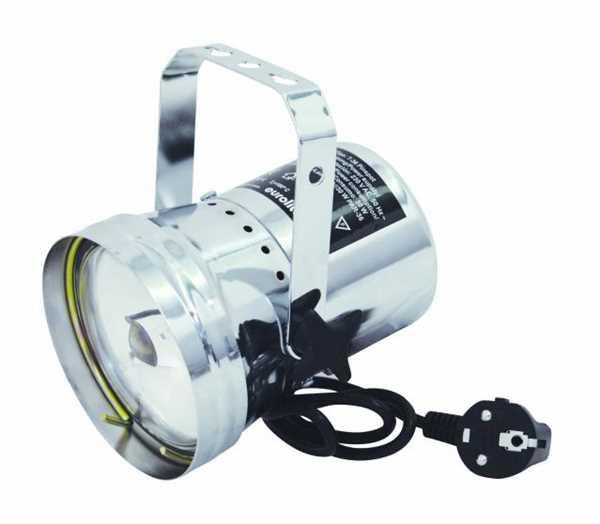 Eurolite PAR 36 Pinspot inkl. Lampe (alu)