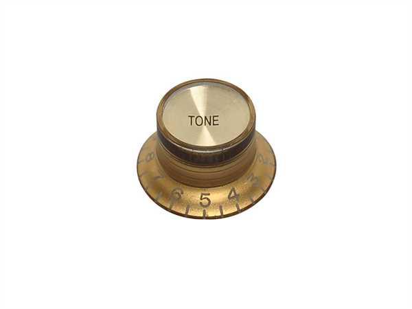 Boston KG-130 T Bell Knob, Tone, gold