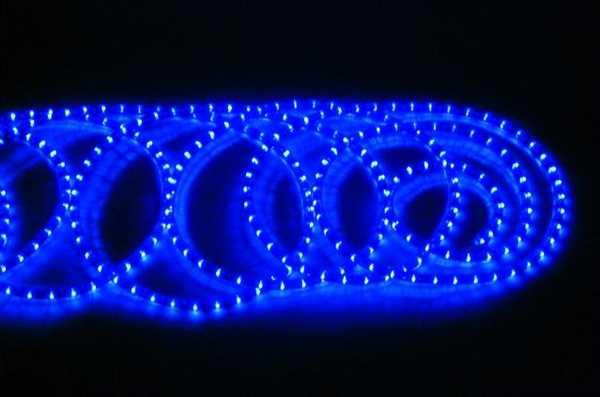 Rubberlight / Lichtschlauch 9m BLAU