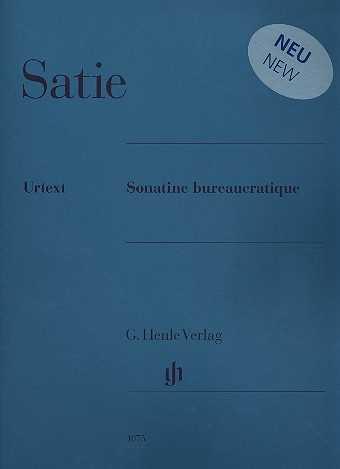 Erik Satie Sonatine bureaucratique : für Klavier