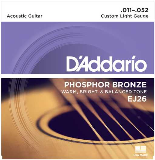 D'Addario EJ-26 Set 011-052