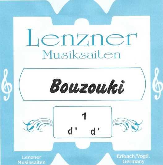 Lenzner 3700 Bouzouki Saiten Stahl