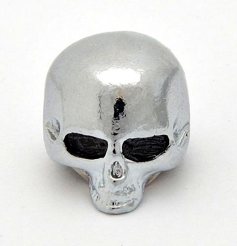 """Göldo KSKUL """"Skull"""" Potiknopf, chrom"""