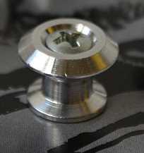 Dunlop Gurtknopf aluminium