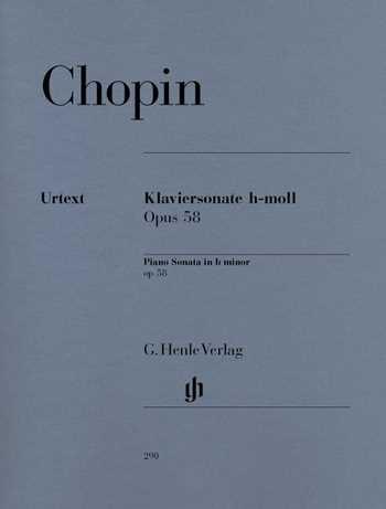 Frederic Chopin Sonate h-Moll op.58 : für Klavier