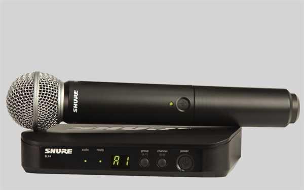 Shure Analoges BLX 24E/SM58 Mikrofon-Funksystem S8