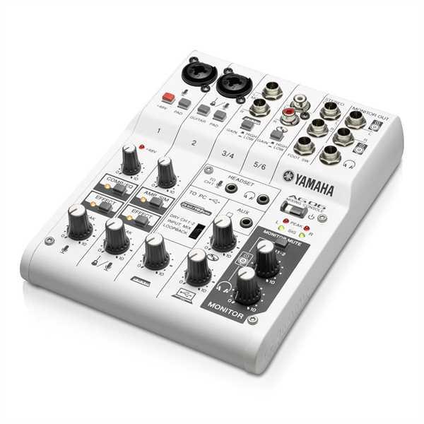 Yamaha AG06 - Mixing Console