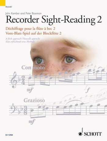 John Kemper Recorder Sight-Reading vol.2 (en/frz/dt) Vom-Blatt-Spiel auf der Blockflöte