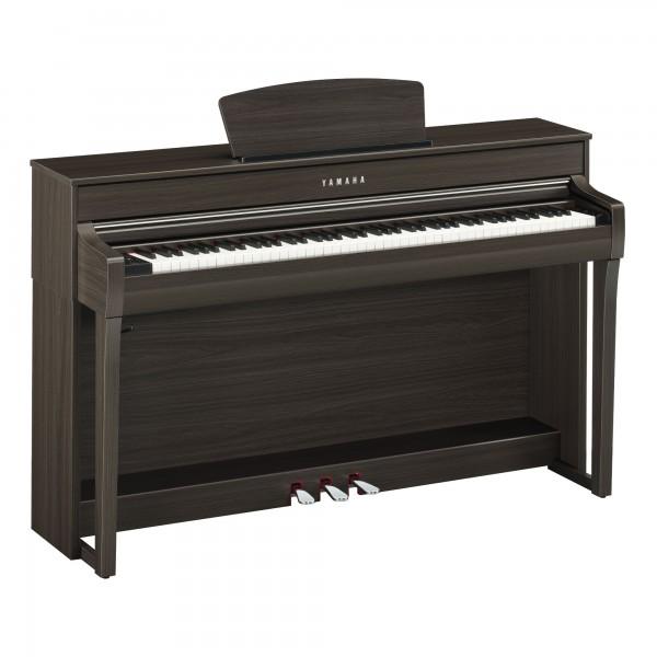 Yamaha Clavinova CLP-735 DW Digital-Piano Wallnuss dunkel satiniert