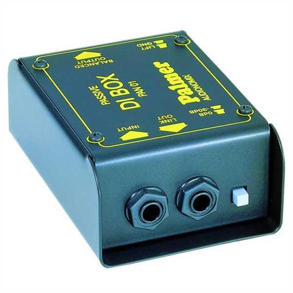 Palmer PAN01 - passive DI-Box, Audiomonix