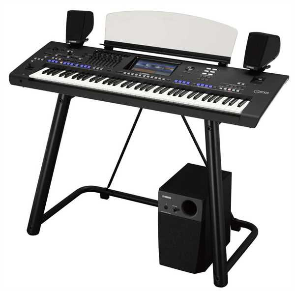 Yamaha Genos XXL Bundle Entertainer Workstation 76 Tasten
