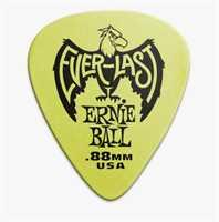 Ernie Ball Plektren Everlast Set 12 Stk. 0.88mm