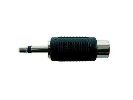 Adapter Cinchbuchse / Klinkenstecker 3,5mm (mono)