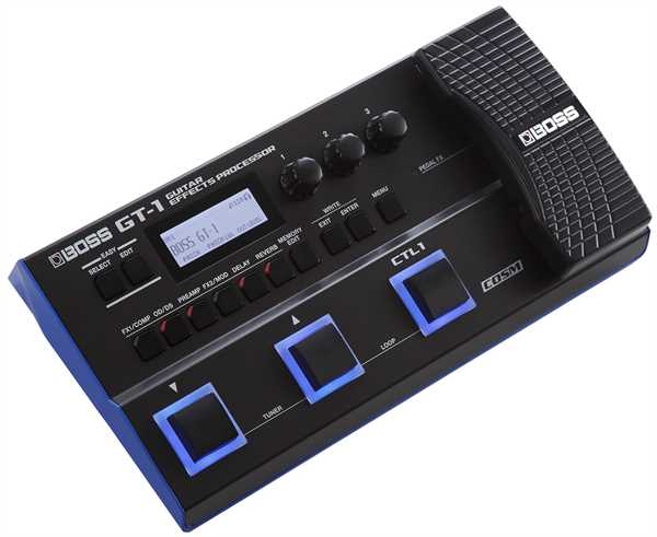 Boss GT-1 Amp Effects Processor