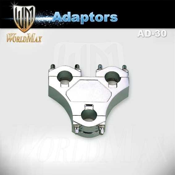 """World Max Adapter AD-30 3-Loch 7/8"""""""
