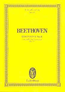 Ludwig van Beethoven Sinfonie F-Dur Nr.8 op.93 : für Orchester Studienpartitur
