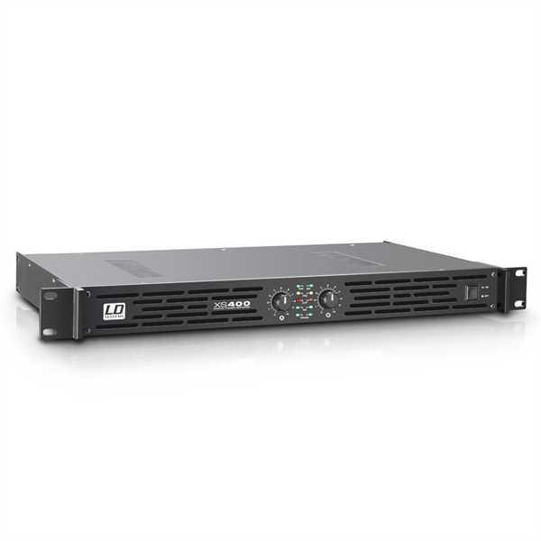 LD Systems XS 400 Endstufe 2 x 200 Watt