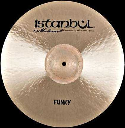 Istanbul Funky Rock Traditional Ride 20""