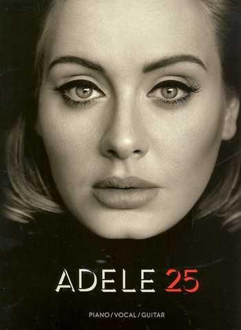 Adele : 25 songbook piano/vocal/guitar