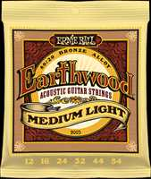 "Ernie Ball ""Earthwood Bronze med.-light"" Westerngitarren Saitenset 012-054"