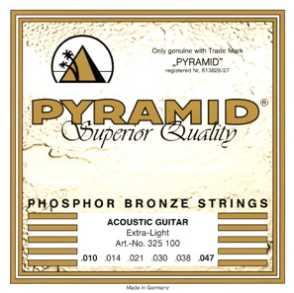 Pyramid 010-047 Phosphor Bronze Akustik-Gitarren Saiten