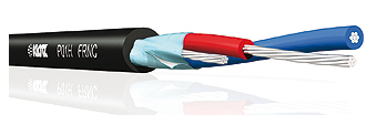 Klotz Mikrofonkabel - Schaltleitung grau
