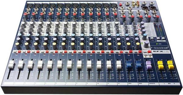 Soundcraft EFX 12 Mixer (12/2) mit Lexicon Effekt