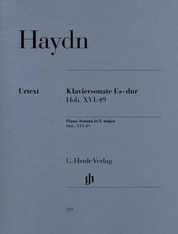 Franz Joseph Haydn Sonate Es-Dur Hob.XVI:49 : für Klavier