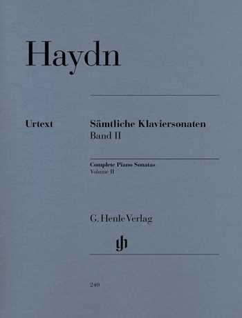 Franz Joseph Haydn Sämtliche Sonaten Band 2 : für Klavier