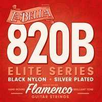 La Bella 820B black nylon, Flamenco