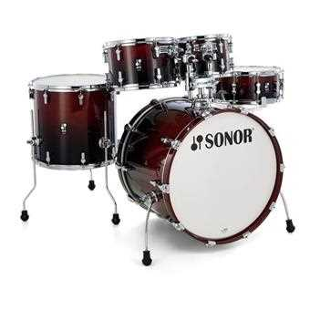 Sonor AQ2 Stage Set Brown Fade 6 tlg. 22-10-12-14-16-14 Shell Set