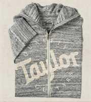 Taylor Wear Zip Front Hoody Urban Größe L 22996