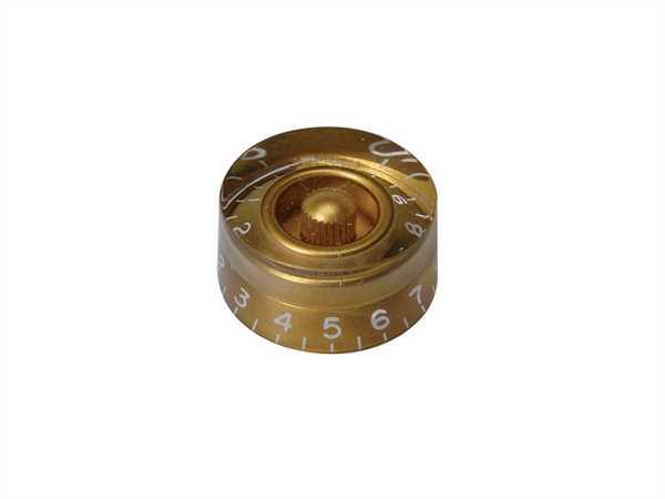 Boston KG-110 Potiknopf (hatbox), gold