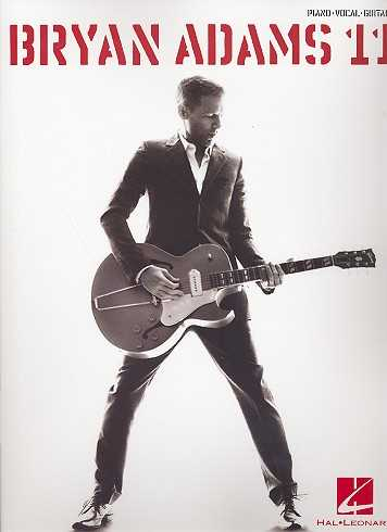 Bryan Adams : 11 songbook piano/vocal/guitar