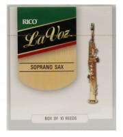 La Voz Blätter für Sopransax S 10-Stück Packung