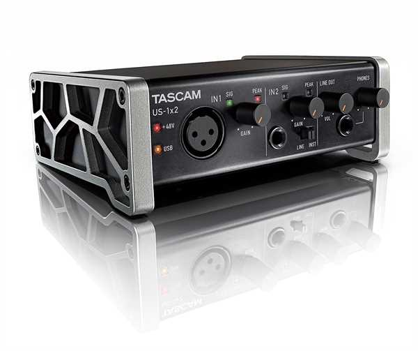 Tascam US 1x2 Audio Interface
