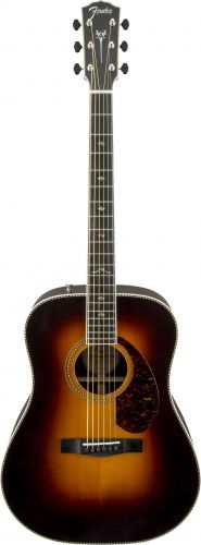 Fender Paramount PM-1 DLX SB Dreadnought Westerngitarre