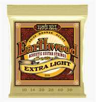 "Ernie Ball ""Earthwood Bronze med.-light"" Westerngitarren Saitenset 010-050"
