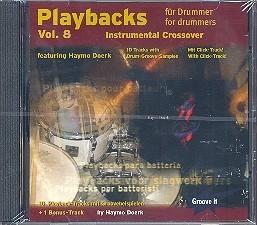 Playbacks für Drummer Vol 8