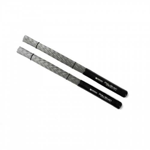 Rohema Cajon + Drum Rods Poly Brush XL