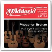 D'Addario EPBB170-5 045-130