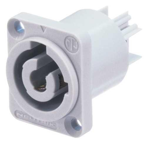 Neutrik NAC3MPB Powercon Einbaubuchse (GRAU)