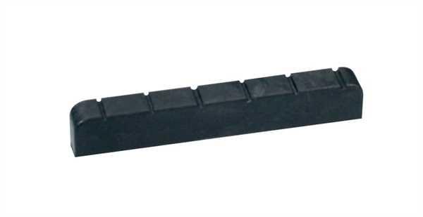 Boston NTC-4 Carbon-Sattel für Gitarre 6-saitig, 44x8x6mm