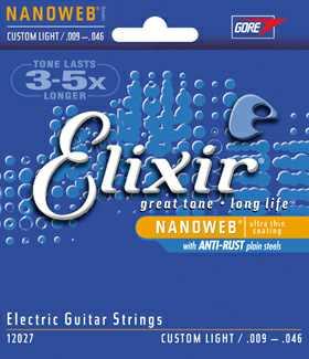 Elixir 12027 Custom Light Saitenset 009-046