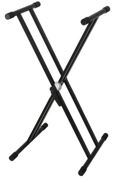 BSX Keyb.-Ständer schwarz doppelstr. 900553