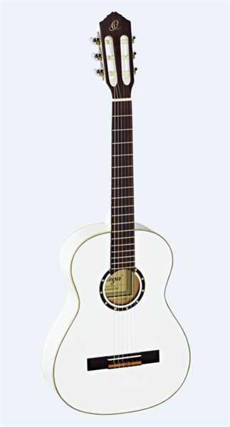 Ortega Konzertgitarre R121 3/4 WH