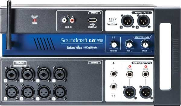 Soundcraft UI 12 Digitalmixer