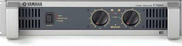 Yamaha P 7000S Endstufe (2x950Watt)
